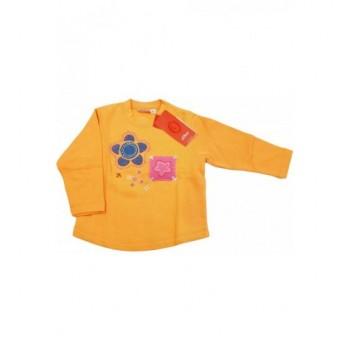 Csillagos narancssárga pulóver (92)