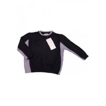 Fekete kötött pulóver (92)