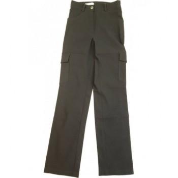 Zsebes fekete nadrág (146)