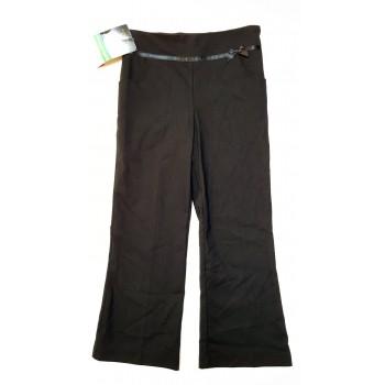 Masnis, fekete alkalmi nadrág (146)