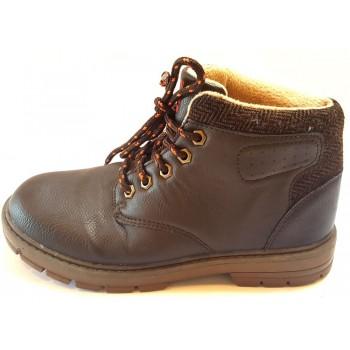 """Sötétbarna őszi cipő (33)"""""""""""