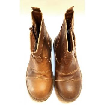 """Barna magasszárú cipő (31)"""""""""""