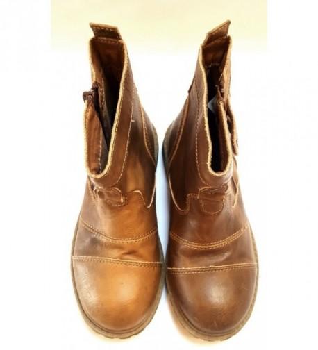 Barna magasszárú cipő (31)