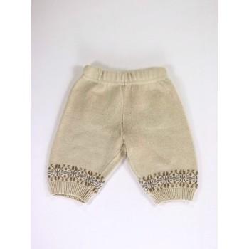Drapp kötött nadrág