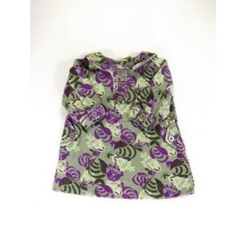 """""""Lila-zöld bársony ruha"""""""