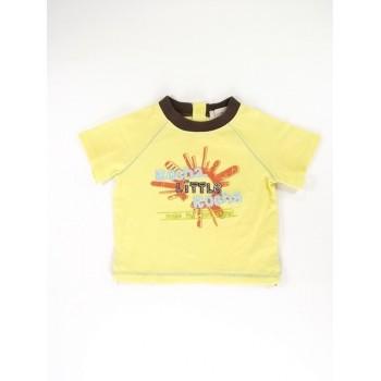 Sárga feliratos póló