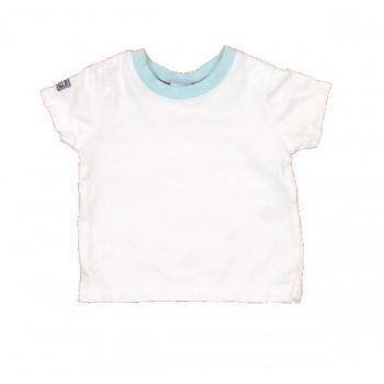 Fehér türkiz póló