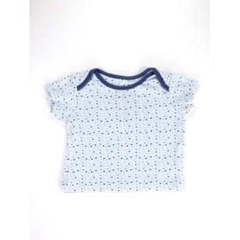 Kék csillagos póló