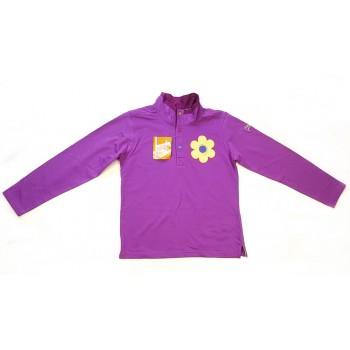 Új lila virágos pulóver (152)