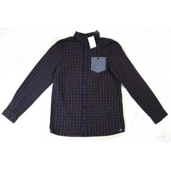 Kék kockás H&M ing (170)