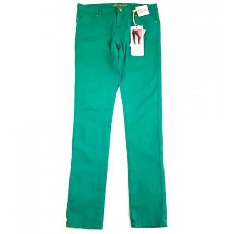 Zöld skinny nadrág (164-170)