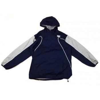 Kék, belebújós átmeneti kabát (152)