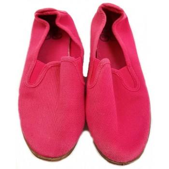 Pink vászoncipő (33)