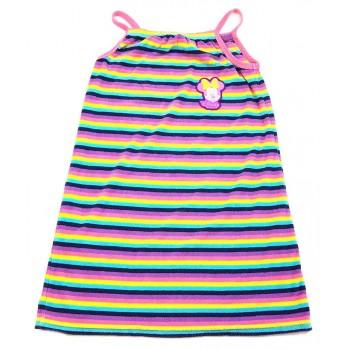 Minnies színes csíkos strandruha (158)