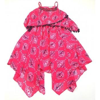 Gyöngyös pink ruha (140)
