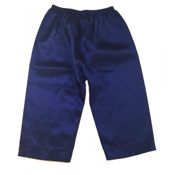 Fényes sötétkék nadrág (68-74)