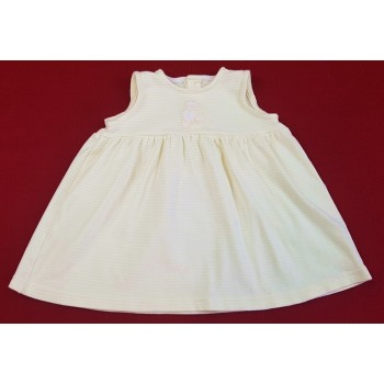 Macis sárga csíkos ruhácska (68)