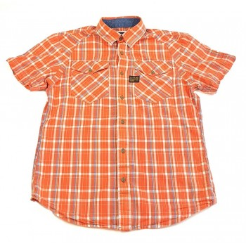Narancssárga kockás ing (170-176)