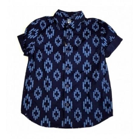 Kék mintás ing (116)