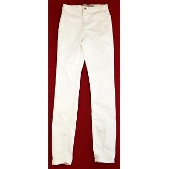 Új fehér skinny nadrág (158-170)