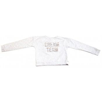 Álomcsapat'' feliratos  pulóver (146)