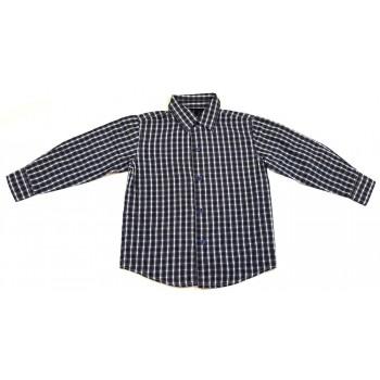 Kék aprókockás ing (104)