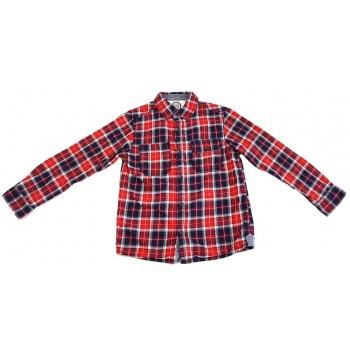 Kék-piros kockás ing (122)