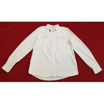 Feliratos fehér blúz (158-164)