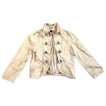 Fodros drapp kabát (104)