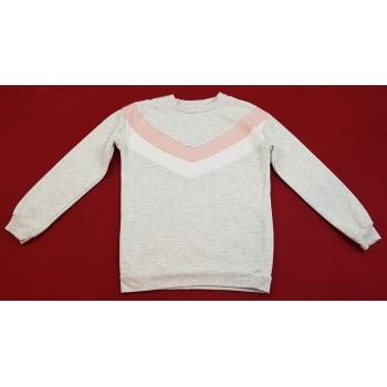 Flitteres szürke pulóver (158)