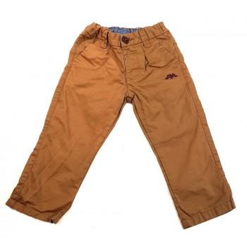 Sas motívumos barna nadrág (80)