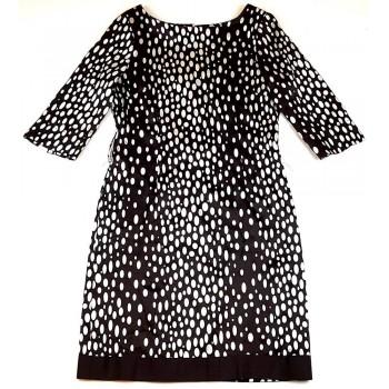 Pöttyös barna Zara ruha (38)