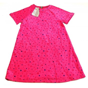 Csillagos pink ruha (158-164)