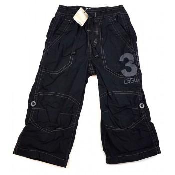 Fekete bélelt roll-up nadrág (86)