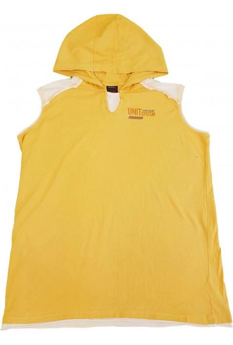 Sárga, ujjatlan felső (164)