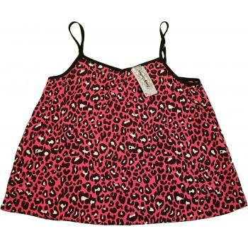 Pink leopárdmintás felső (146)