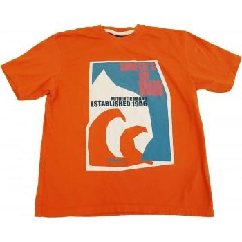 Szörfös-feliratos narancs felső (140)