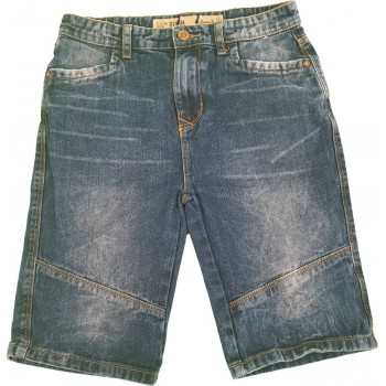 Denim farmershort (152)