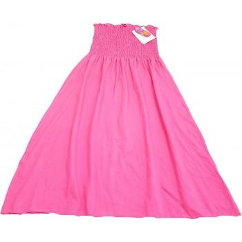 Pánt nélküli pink ruha (164-170)